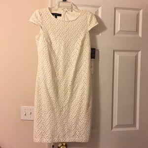 Nine West off white dress